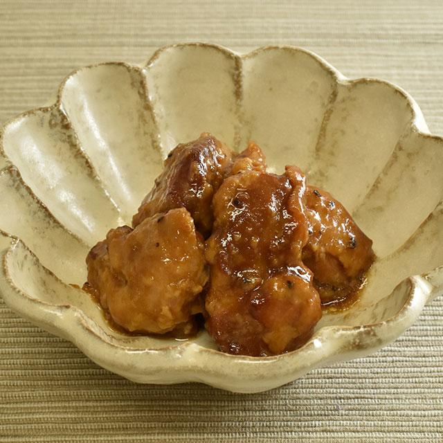 はちきん地鶏バルサミコ仕立て(皿)