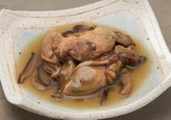 牡蠣実山椒皿盛