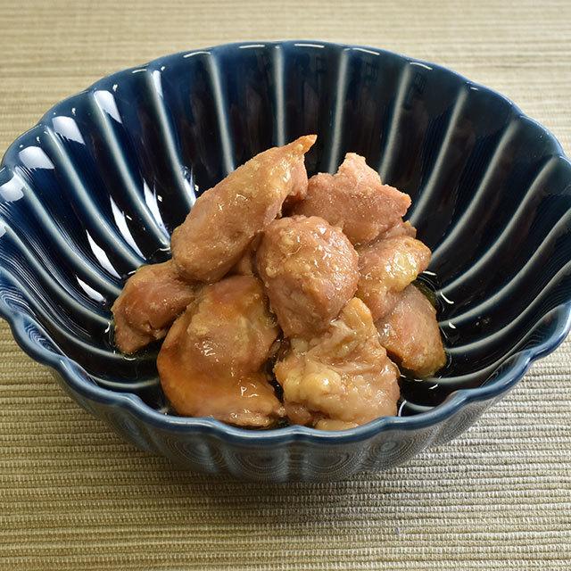 はちきん地鶏ゆず塩仕立て(皿)